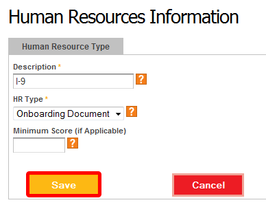 "Edit the ""Human Resources"" type."
