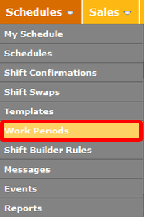 "Go to the ""Wok Periods"" page."
