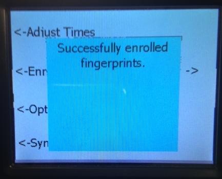 Test Fingerprint