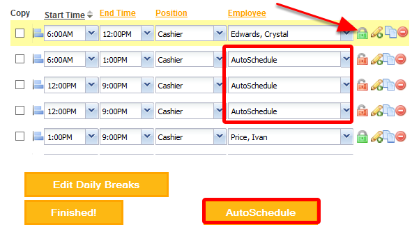 Choose the AutoScheduler