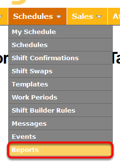 Go to your Schedule Reports.