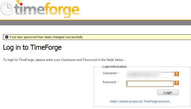 Your password is reset!