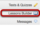 Go to the blank Lessons Builder tool.