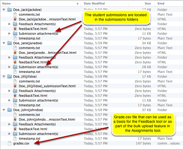 Unpack the zip file. (Example of Download All)