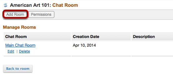 Click Add Room.