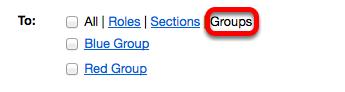 Choice 3: Click Groups.