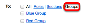 Choice 3: Click Groups.
