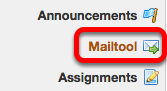 Go to Mailtool