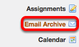 Go to Email Archive.