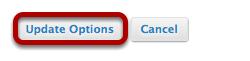 Click Update Options.