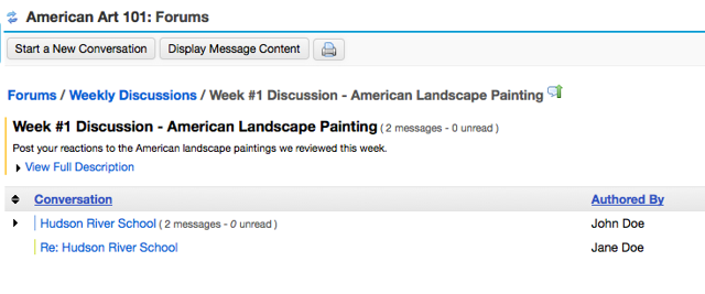 Example of what this looks like on the Topic page:
