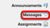Go to Messages.