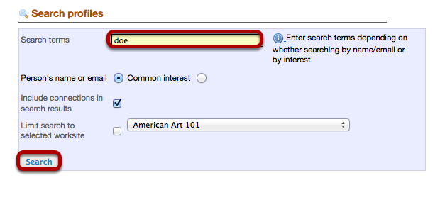 Enter your search terms.