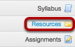 Go to Resources of the site you want to copy the files or folders TO.