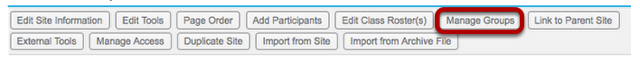 Click Manage Groups.