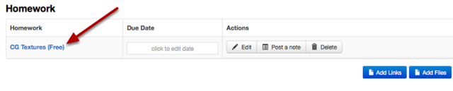 The link now appears in the Piazza resource folder.
