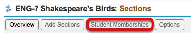 Click Student Membership.