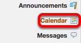 Go to Calendar.