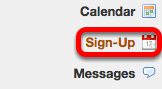 Click Sign-up.