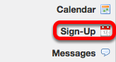 Go to Sign-up
