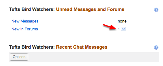 5 - Unread Messages and Forums: