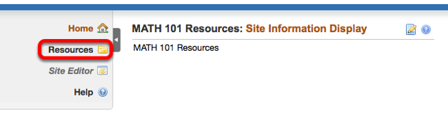 Go to the project site Resources.