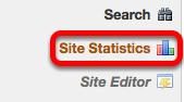 Go to Site Statistics.
