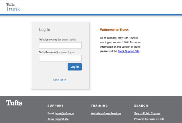 New Login Page: