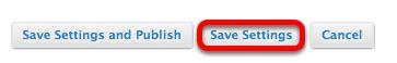 Click Save Settings.