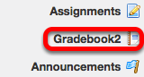 Go to Gradebook2