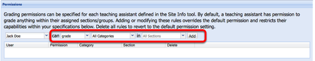 Select Can Grade, All Categories, in All Sections (or some limit described in the dropdown box.