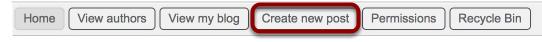 Next, click Create new post