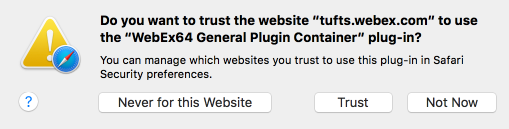 Note: If you receive any request to download and install plugins, accept and follow the installation steps.