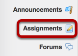 (Part 1) - Go to the Trunk course site and click on Assignments.