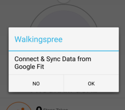 Allow Google Fit connect