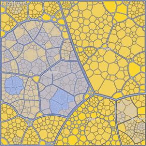 Voronoi treemap.