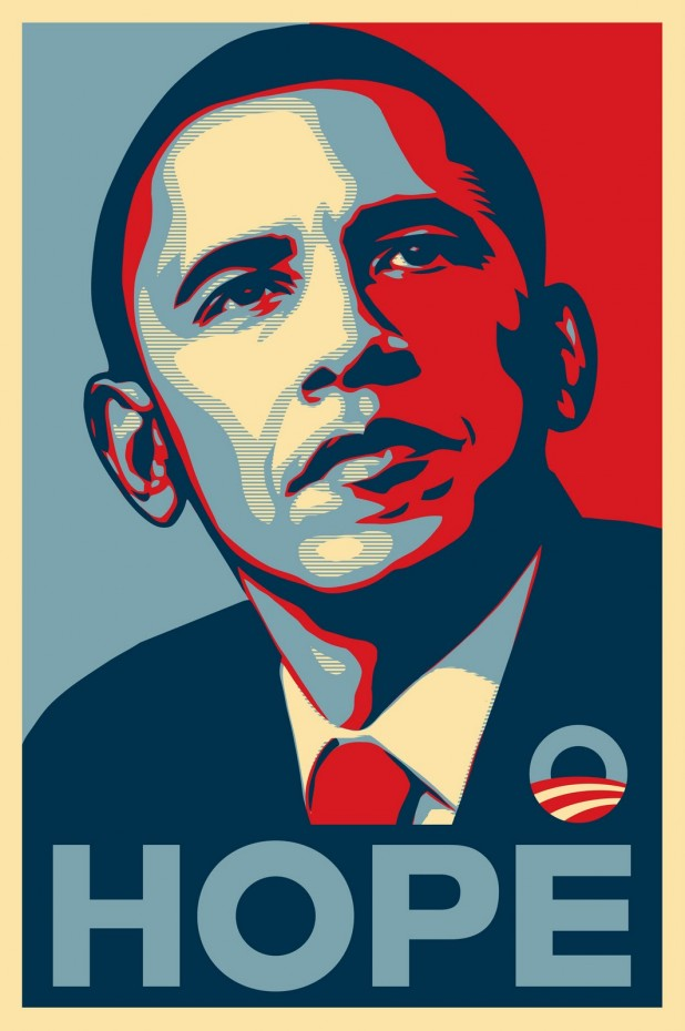 Shepard Fairey Obama Poster