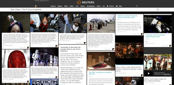 Reuters Star Wars The Force Awakens