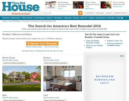 This Old House_The Search for America's Best Remodel 2016