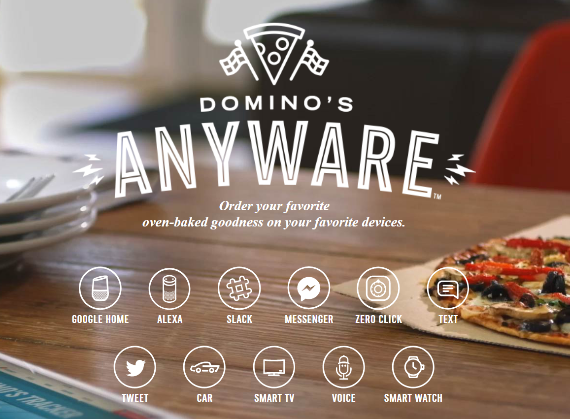 domino's new technologie