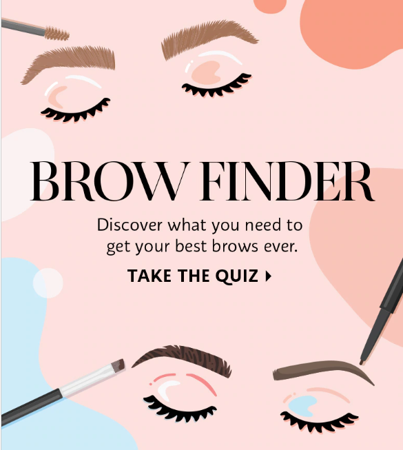 sephora brow finder quiz