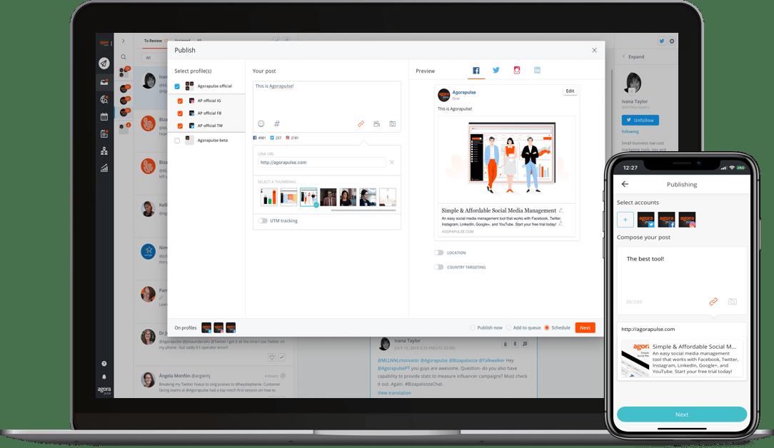 Agorapulse, social media tool