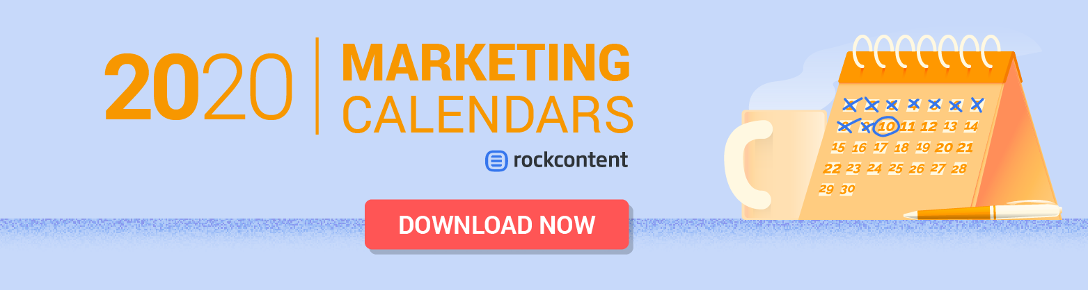 Marketing calendars - Promotional Banner