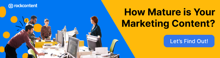 How mature is your content - Promotional Banner