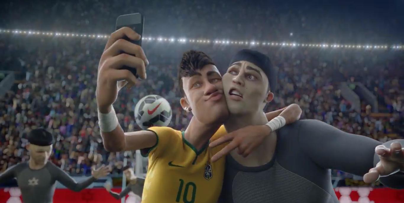 tono Ejemplo estrés  A Risk That Paid Off: Nike's Last Game Animated World Cup Commercial - Blog