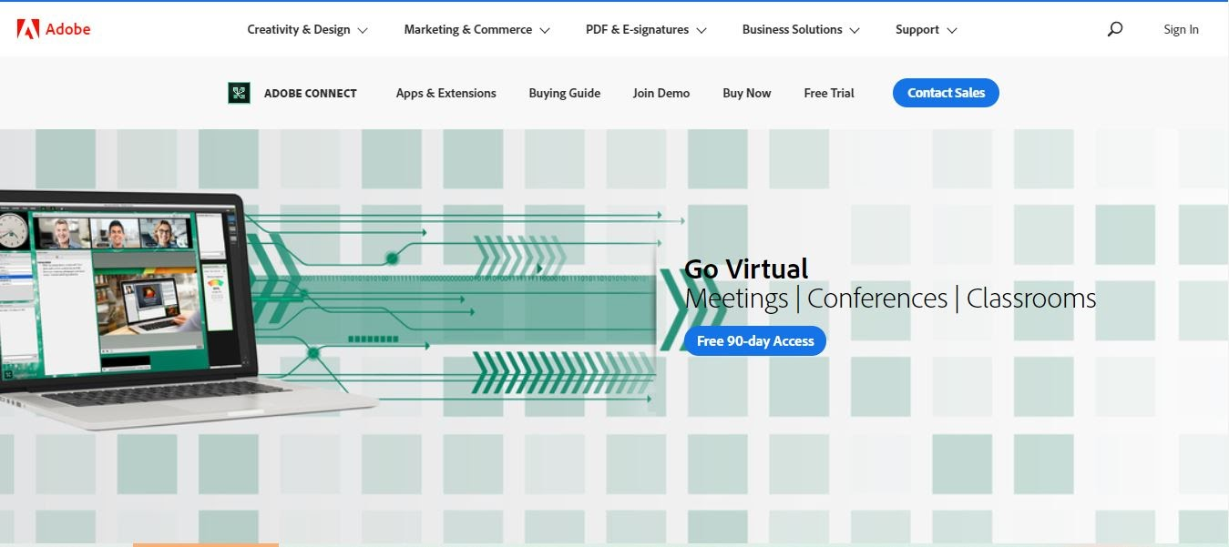 adobe conect webinar platform