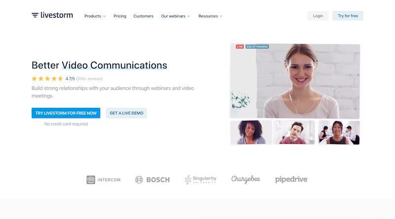 livestrom webinar platform