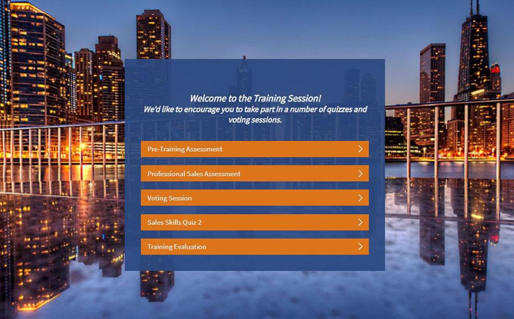Survey Anyplace quiz example