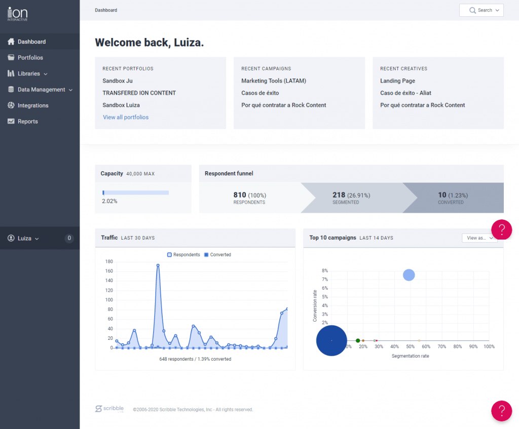 ion interactive platform