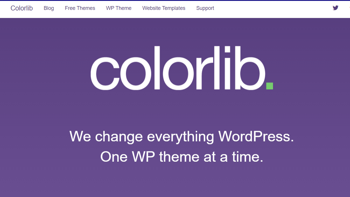colorlib to buy premium wordpress theme